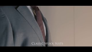 Classic Wool Suits from Samuel Windsor