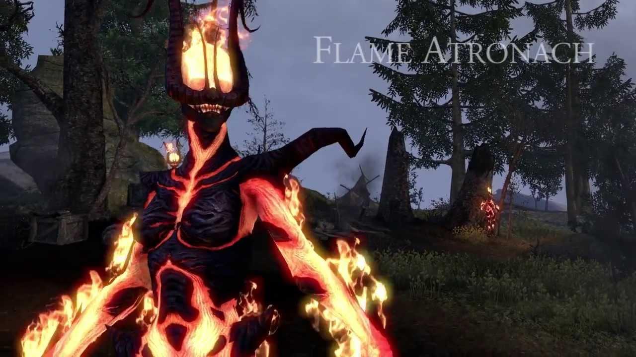 Elder Scrolls Online: видео - Огненный Атронах