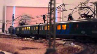 HO Model Train Layout and Timetable Operation including new Terminus Station.
