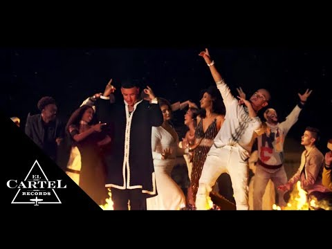"""Daddy Yankee, RedOne, French Montana & Dinah Jane 