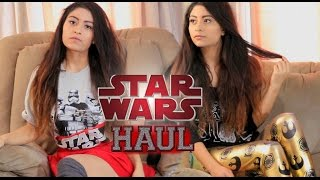 HUGE STAR WARS CLOTHING TRY-ON HAUL!! Hot Topic, Macys, JCPenney & More!