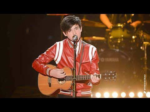 Chris Sings Riptide | The Voice Kids Australia 2014