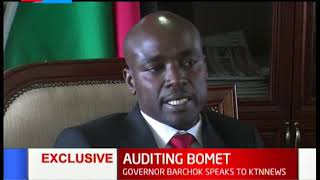 Bomet governor, Hillary Barchok speaks of corruption allegations labelled against his government