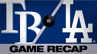 Seager leads Dodgers to win with 4-RBI game   Rays-Dodgers Game Highlights 9/17/19