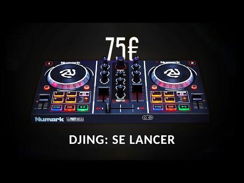 DJ : Se lancer avec un petit budget (Numark Party Mix unboxing : prise en main, review & test)