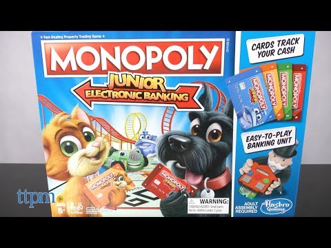 Monopoly Junior Electronic Banking From Hasbro