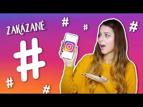 Najdivnejšie zakázané hashtagy na Instagrame