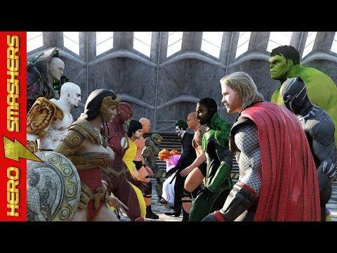 Thor vs Wonder Woman vs Hulk vs Black Panther vs Aquaman vs The Flash vs Neo vs Kratos vs Darkseid
