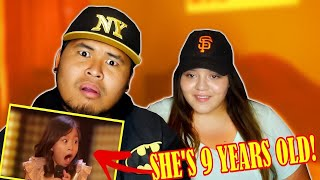 Celine Tam: 9-Year Old from America's Got Talent 2017   REACTION!