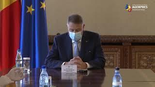 Coronavirus/Preşedintele Iohannis are miercuri o şedinţă de evaluare a măsurilor de siguranţă şi ordine publică cu membri ai Guvernului