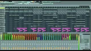 Afrojack - Illuminate ft. Matthew Koma - MTBWillford FL studio instrumental Remake + FLP