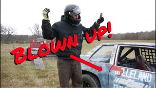 Chevy Monza Raced to DEATH - Blown up engine! - Vice Grip Garage EP51