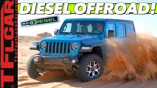 Finally! Jeep Stuffs a Powerful Diesel Engine Into the Wrangler — Was It Worth the Wait?