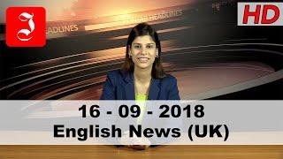 News English UK 16th Sep 2018