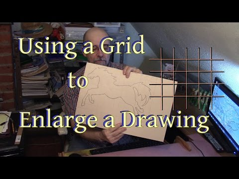 Using a Grid to Enlarge a Drawing