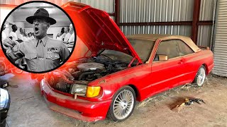 Abandoned R. Lee Ermey car - Mercedes Benz 560SEC. True Story You've Never Heard Before