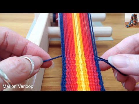 Straight Edges For Inkle Loom Weaving Marion Verloop Vevo Clipcom