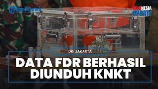 KNKT Berhasil Unduh Data FDR Sriwijaya Air SJ-182, Ada 330 Parameter yang Kini Masih Dipelajari
