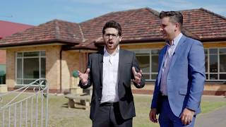 43 Hammond Road, Findon with Michael Walkden & Laurie Berlingeri - Adelaide Real Estate SA -