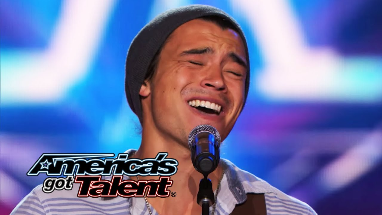 "Miguel Dakota: Musician Sings Emotional ""Heartless"" Cover - America's Got Talent 2014 thumbnail"