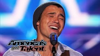 "Miguel Dakota: Musician Sings Emotional ""Heartless"" Cover - America's Got Talent 2014"
