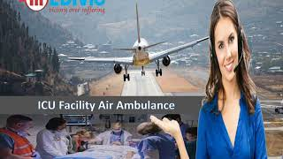 Hire Hi-Tech Air Ambulance from Patna to Delhi by Medivic Aviation