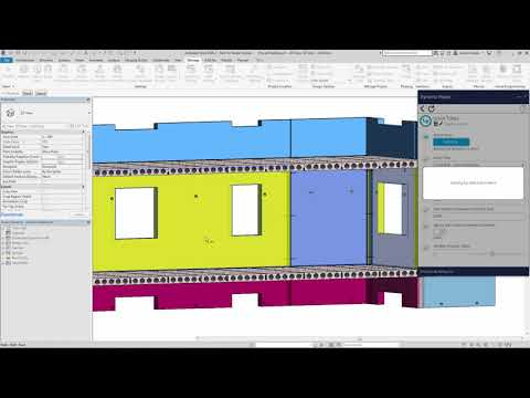 Revit 2019 Automated Process of Adding Grout Tubes Demonstration