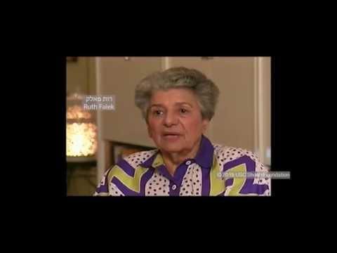 ניצולת השואה רות פאלק מספרת על ההגירה מגרמניה הנאצית לארצות הברית