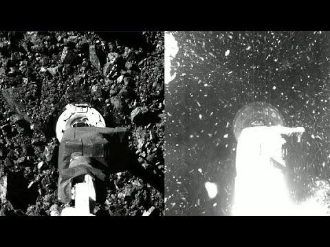 OSIRIS-REx touches Bennu