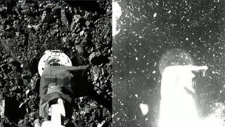 OSIRIS-REx Touches Asteroid Bennu