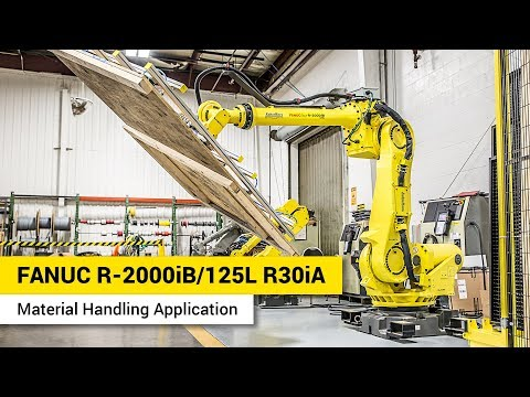 FANUC R-2000iB/125L - R-30iA - Material Handling Application