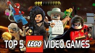 Top 5 Best LEGO Video Games!
