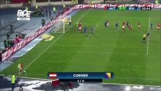 Bosnia vs Austria friendly HD second half 2015