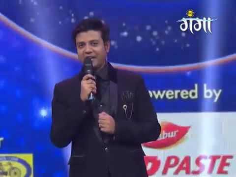 Rupesh mishra and Actor Ravi kishan perform in Sa re ga ma pa rang purvaiya big ganga channel