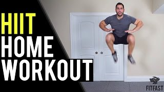 15 Minute HIIT Workout | Home Workout to Lose Belly Fat Without Equipment by BarbarianBody