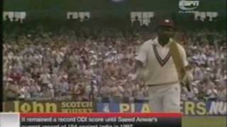 Greatest ODI Innings Ever By Viv Richards(189) Part 1