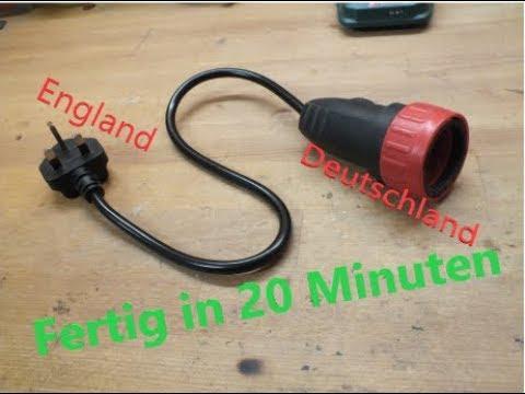 """Selfmade England Adapter """"In 20 Minuten zum Selfmade Stecker-beschwöhrer"""""""