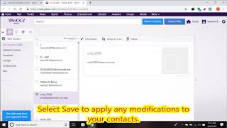How to Add Contacts Automatically in Yahoo Mail 2019
