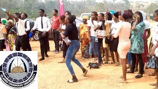 OOU Student Dance Fight - Shaku Shaku  by G-one Youtube