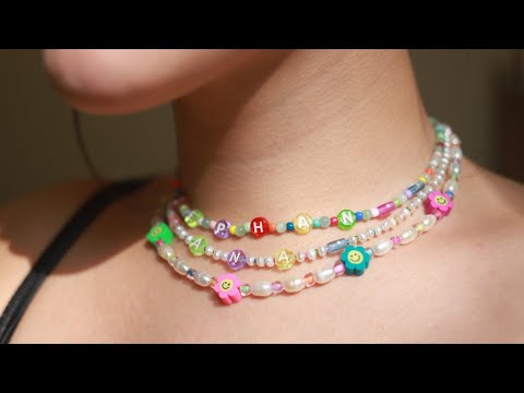 DIY Rice Pearl Necklace   Tools, Hardware, & BEADS!!   soothingsista