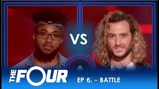 JeRonelle vs Noah Barlass: THIS BATTLE ENDS IN CHAOS!! | S2E6 | The Four