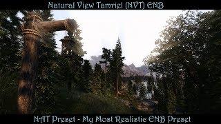 SkyrimSE | NVT ENB - NAT Preset (V4.1e) | Updated & Improved | My Most Realistic Preset