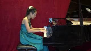 Bach - English Suite No. 2 in A minor, BWV 807, Prelude (Celine Chen)