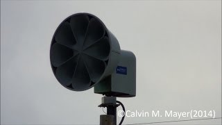 preview picture of video 'Carey, OH ASC T-128 Siren Test 5-7-14'