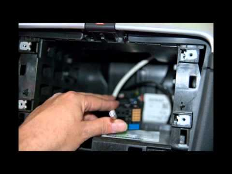 Brico instalación de reposacabezas dvd + tv + navegador gps + camara trasera en un skoda Superb II