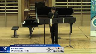 Ryo Nakajima plays Samba by Christian Lauba