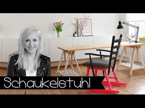 DIY | SCHAUKELSTUHL SELBER MACHEN | MÖBEL | DIY I HOLZ