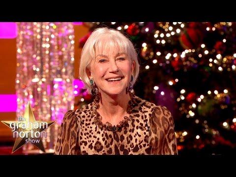 Dame Helen Mirren's VERY Alternative Christmas Message - The Graham Norton Show