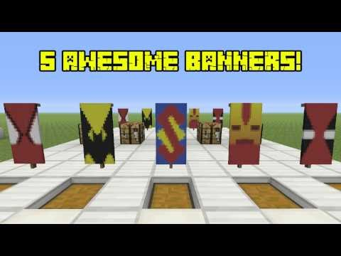, title : '5 Awesome Super Hero Banners AND HOW TO MAKE THEM! (Banners on Console)'