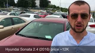 Цены на авто из США в Грузии на авторынке Автопапа